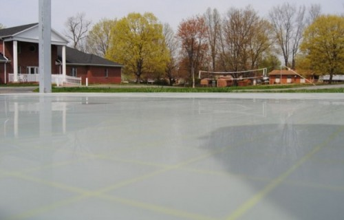 Bandy's Six-Square Outdoor Game