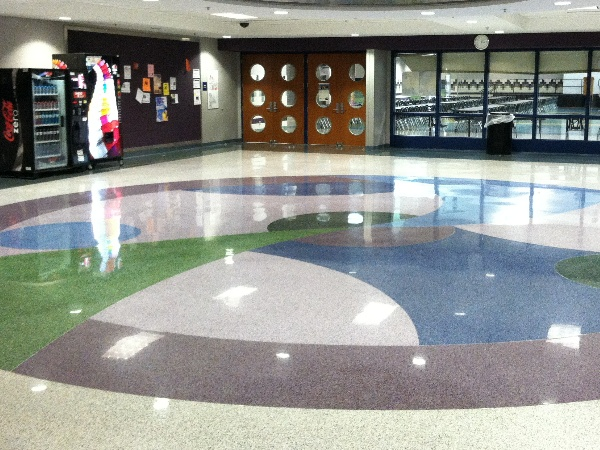 Results Terrazzo Restoration Pike High School Indianapolis