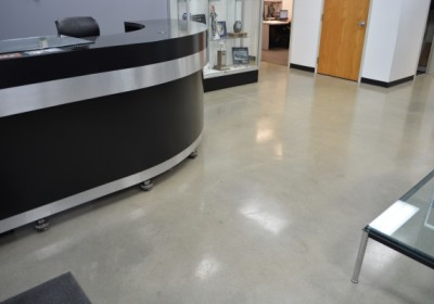KV Racing – Polished Concrete Floor