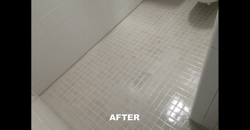 butler tile and grout coating after