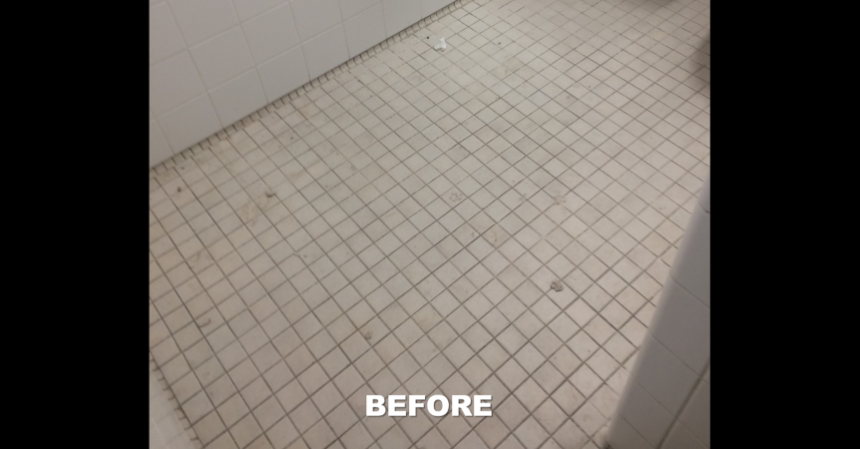 butler tile and grout coating before