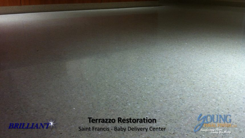 baby delivery center - terrazzo restoration 4