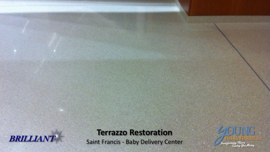 baby delivery center - terrazzo restoration 5