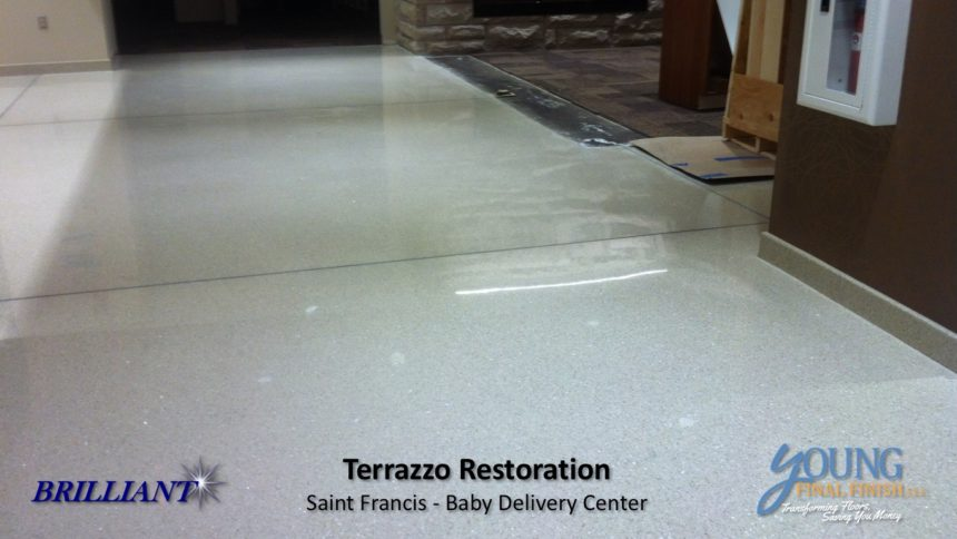 baby delivery center - terrazzo restoration 7