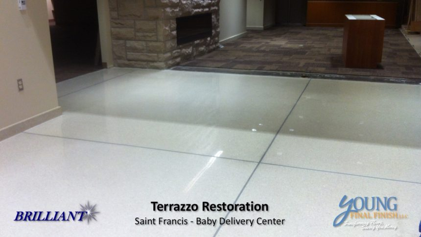 baby delivery center - terrazzo restoration 8